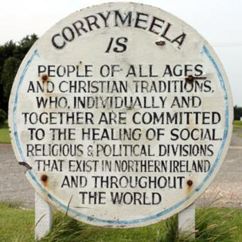 Corrymeela sign