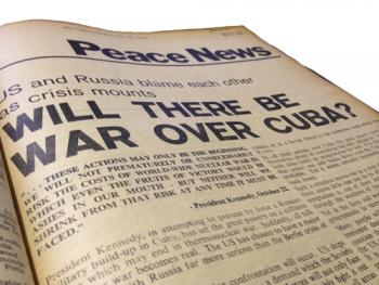 Nearly the end of the world   Peace News