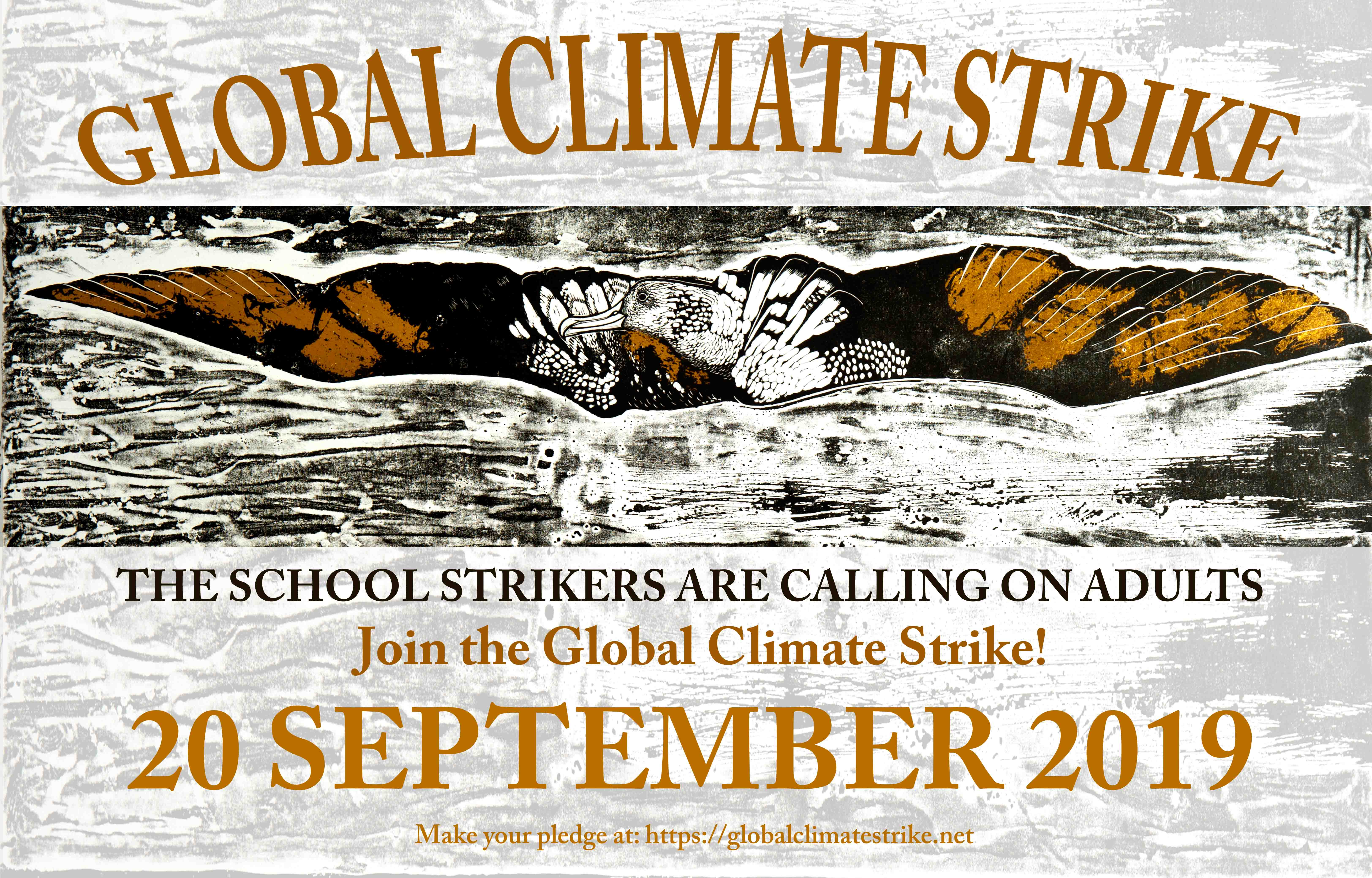 Global Climate Strike poster | Peace News